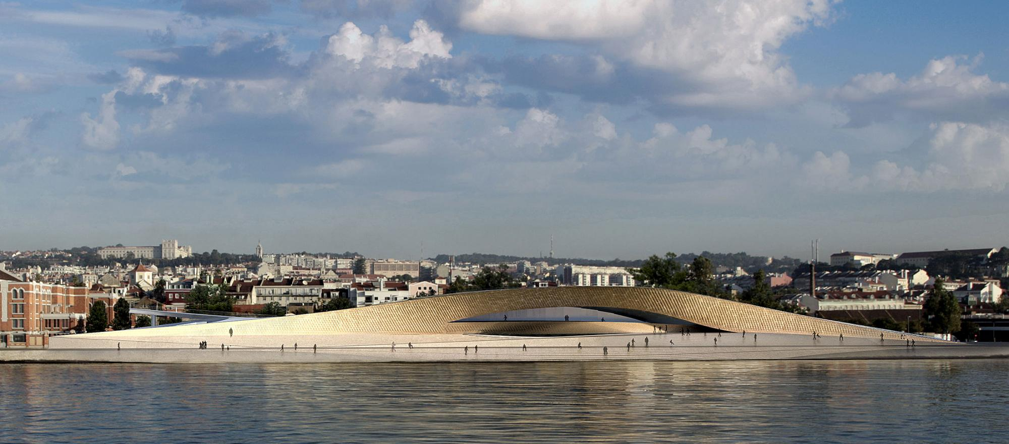 Lisbon's Museum of Art, Architecture, and Technology (MAAT).