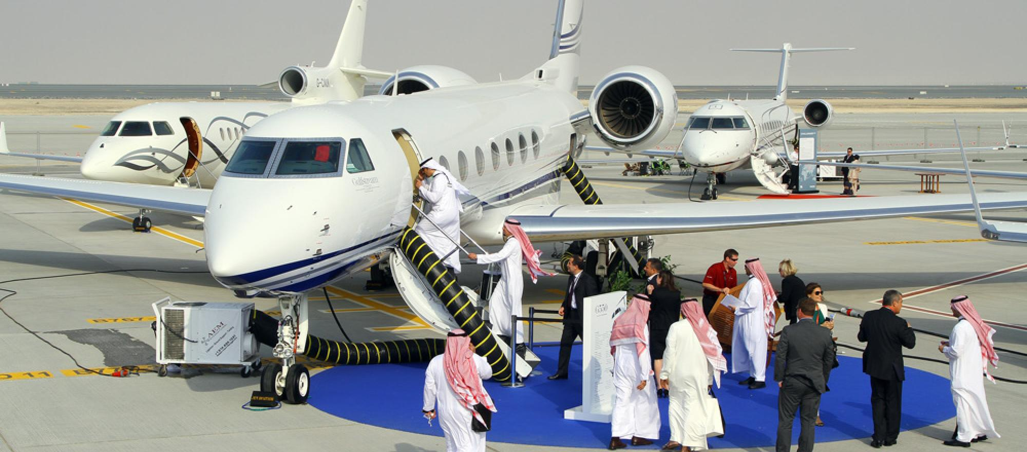 MEBA 2012 attracted more than 7,000 visitors who perused business aviation pleasures like this popular Gulfstream G550