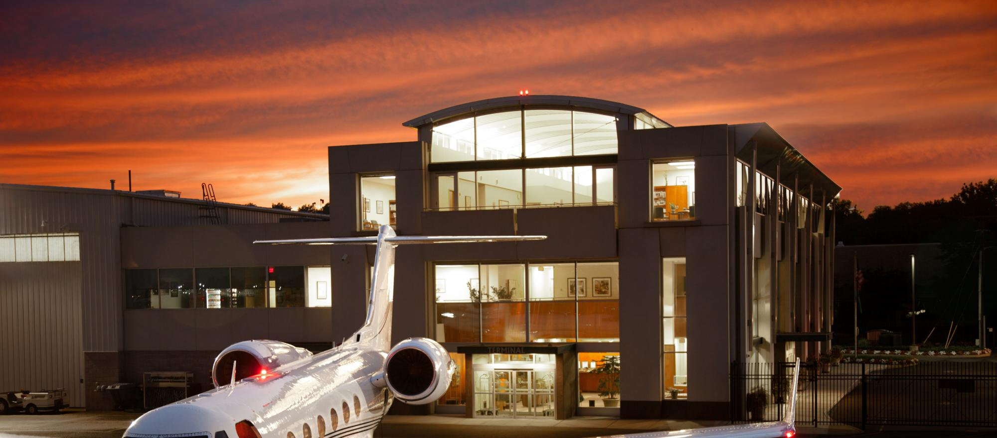 Teterboro, New Jersey-based charter company Meridian also offers FBO, aircraft management and maintenance services.