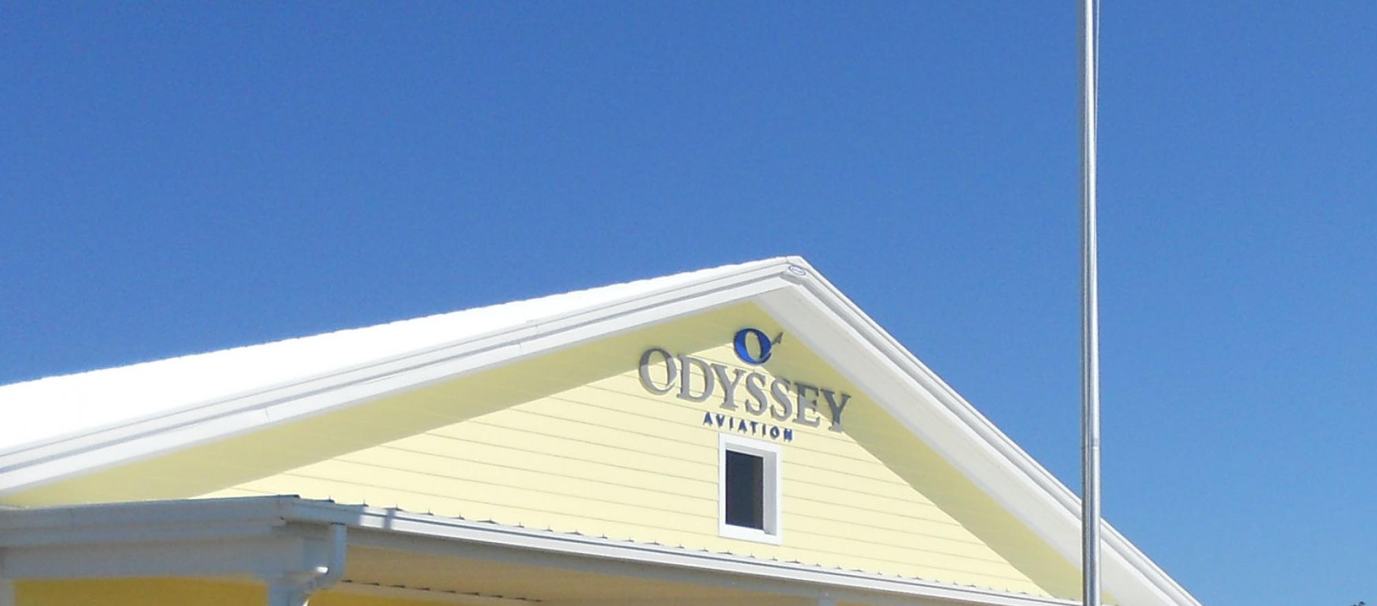 Odyssey Aviation's FBO in Nassau in the Bahsmsd