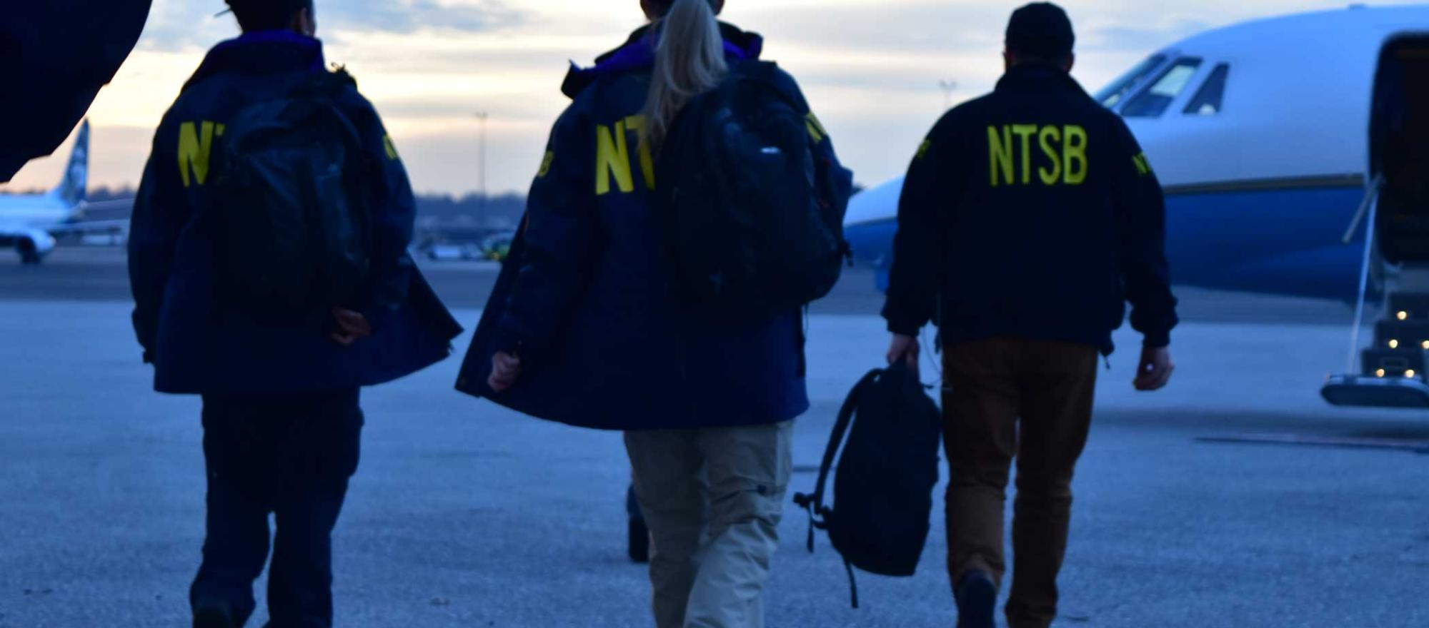 NTSB workers
