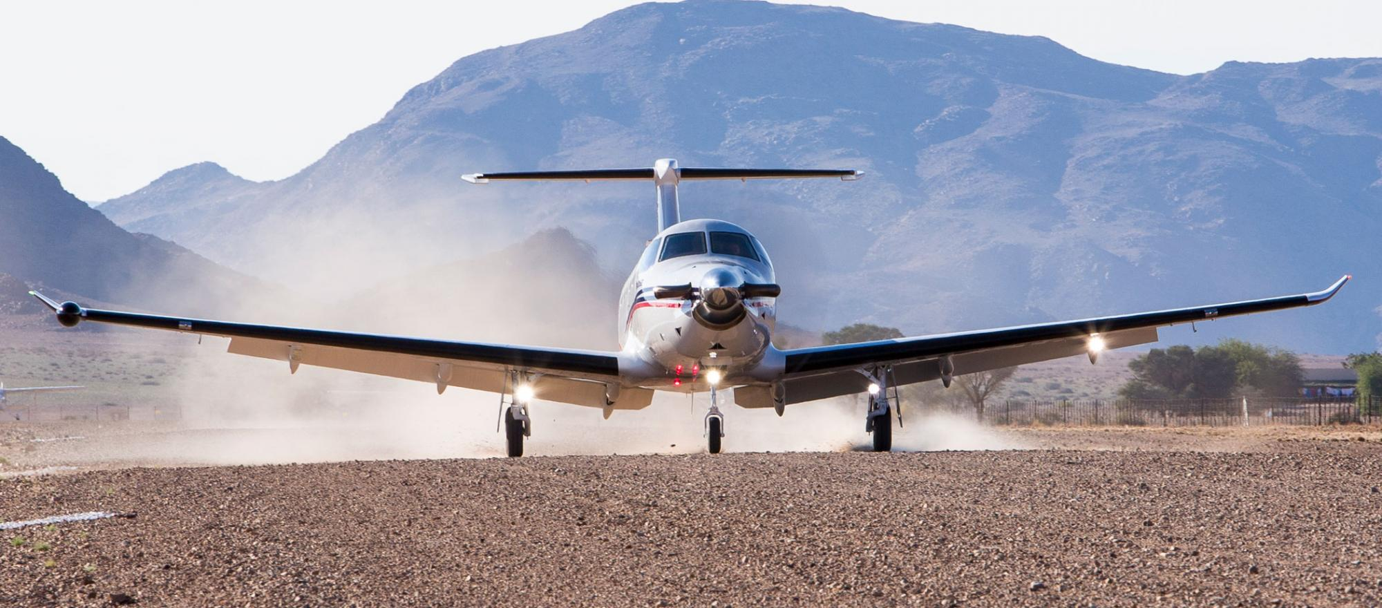 Pilatus PC-12NG take off