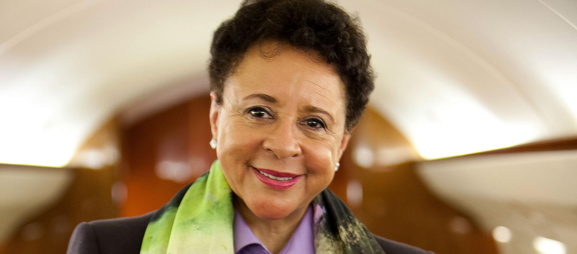 Salamander Hotels & Resorts CEO Sheila Johnson