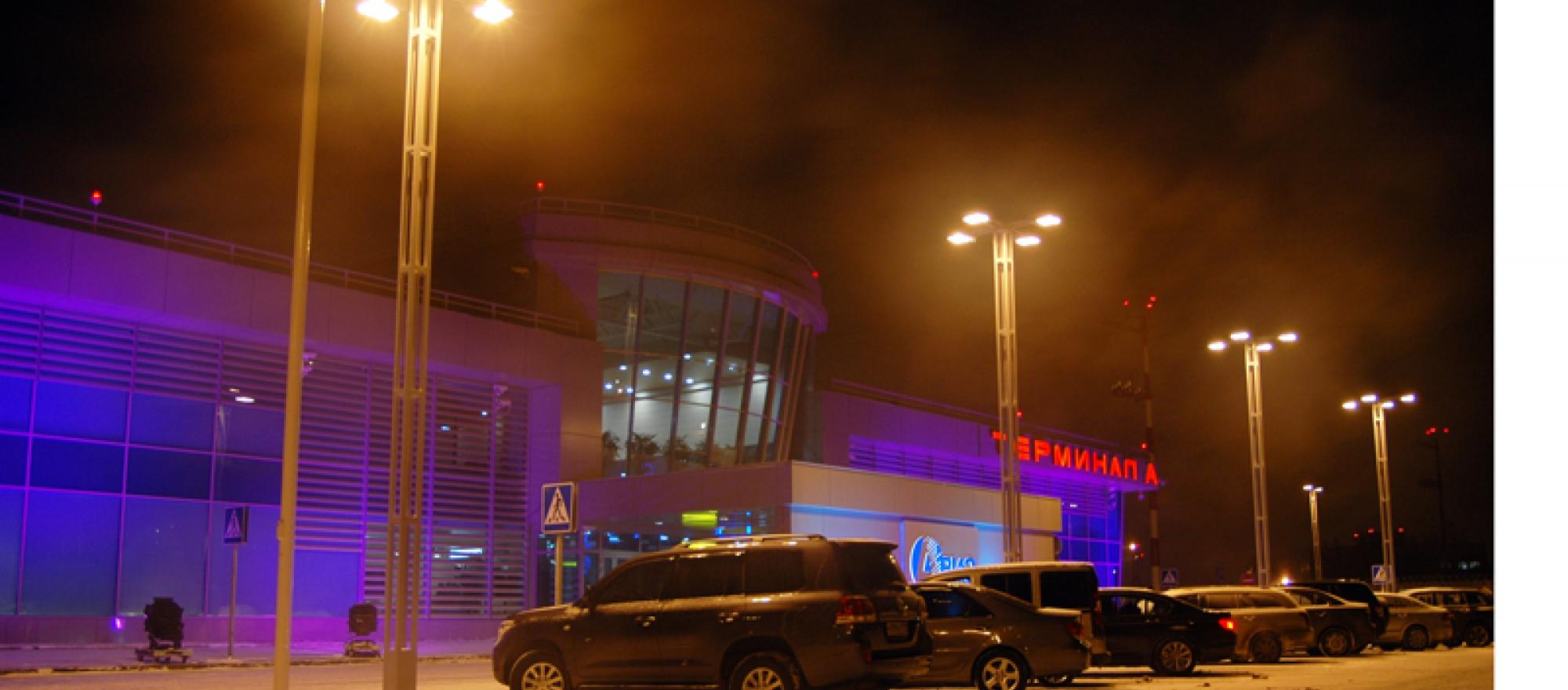 Terminal A at Moscow Sheremetievo Airport