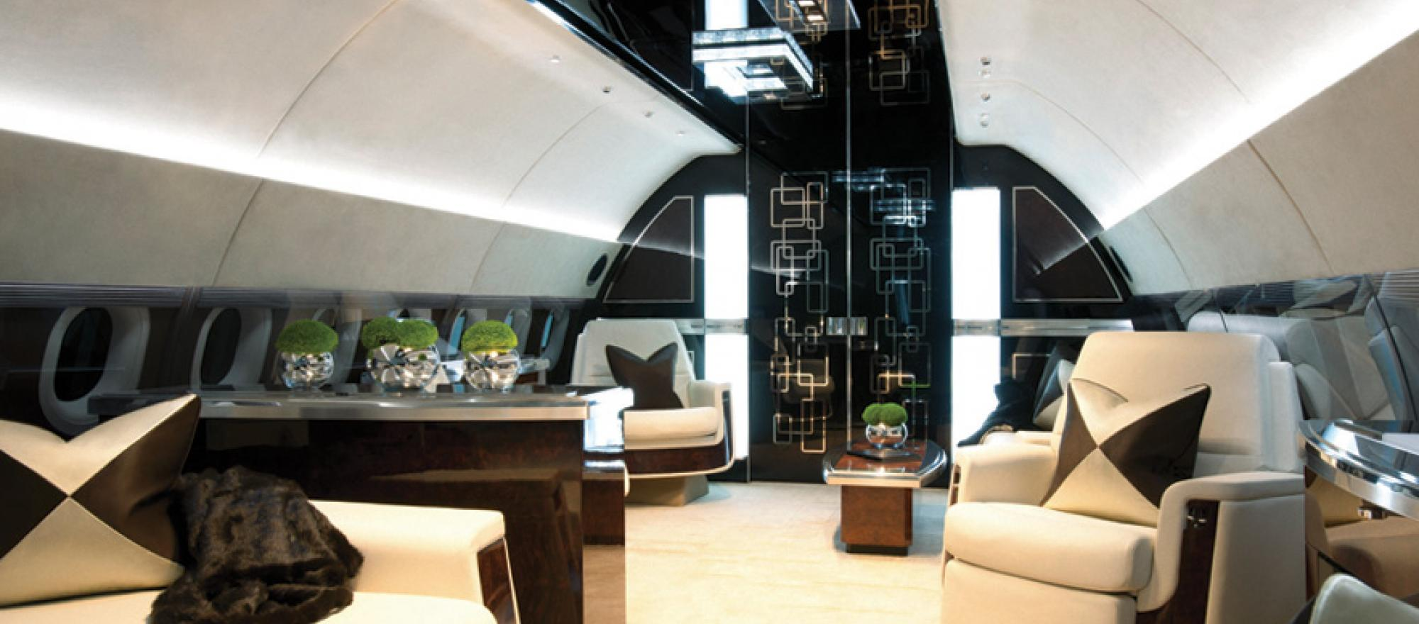 A new way to shop for a jet business jet traveler for Large cabin business jets