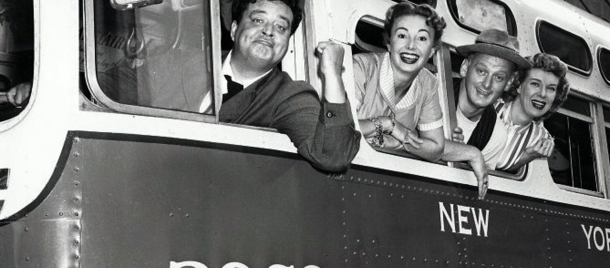 The Honeymooners' 1955 cast