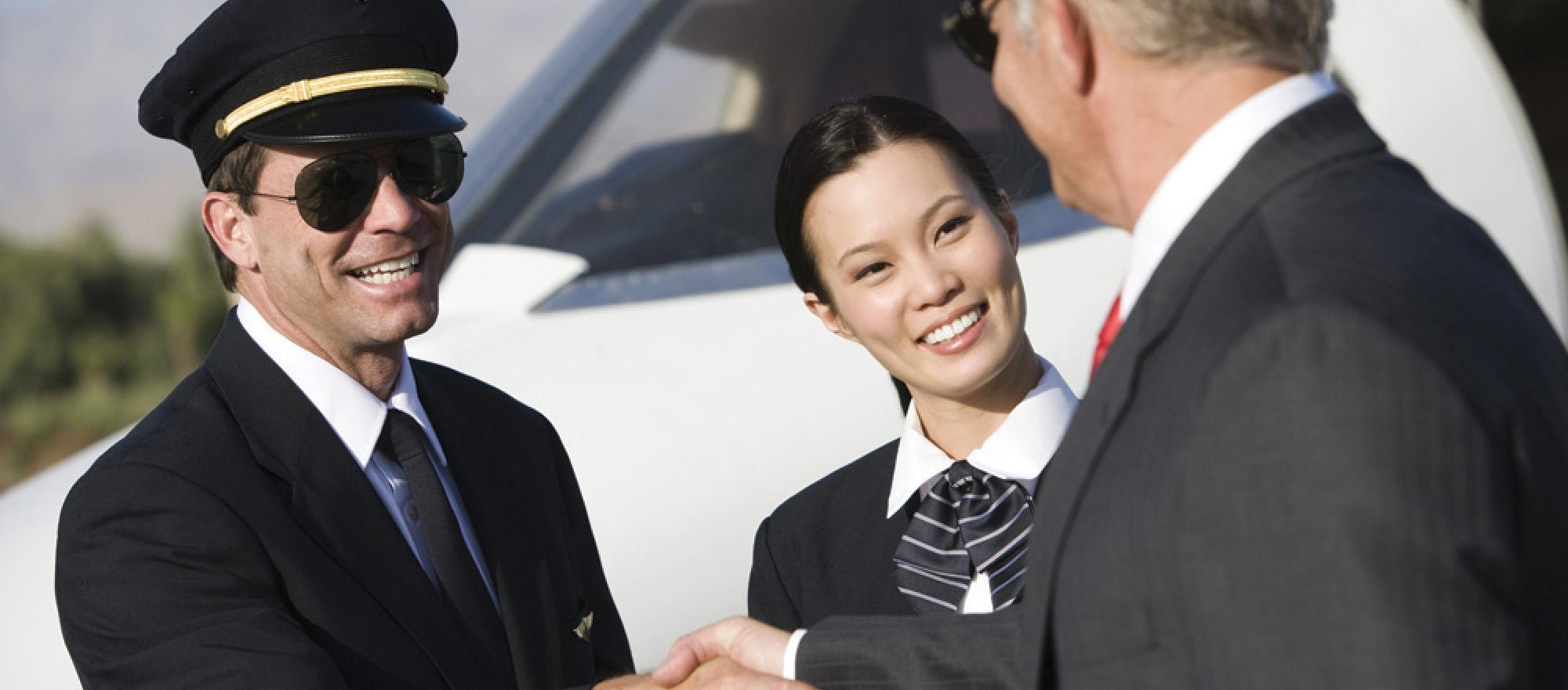 Charter pilots typically say they don't expect tips but always appreciate them.
