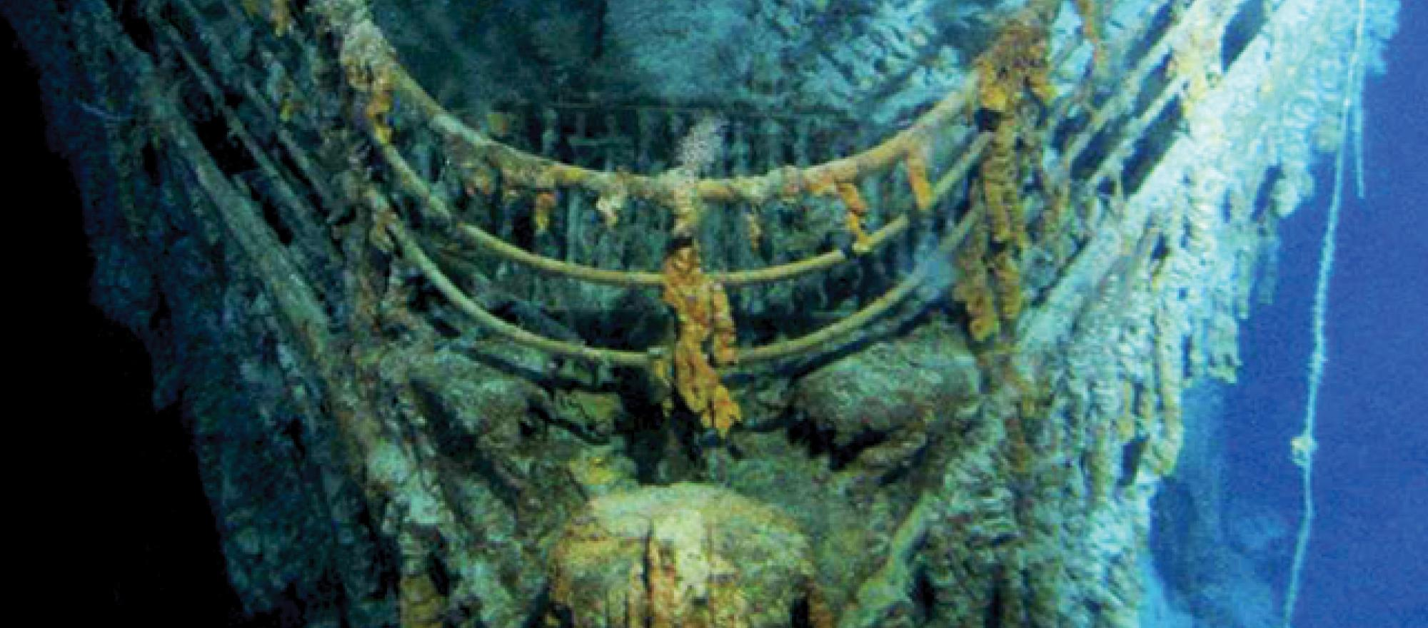 Where the 'Unsinkable' Titanic Sank