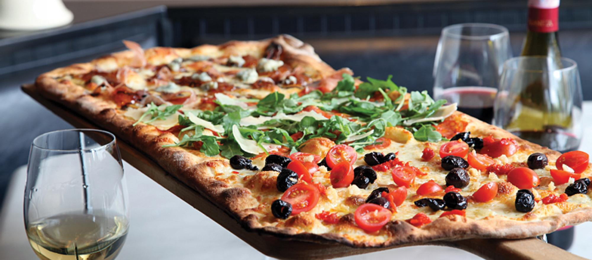 Tony Gemignani's award-winning pizza
