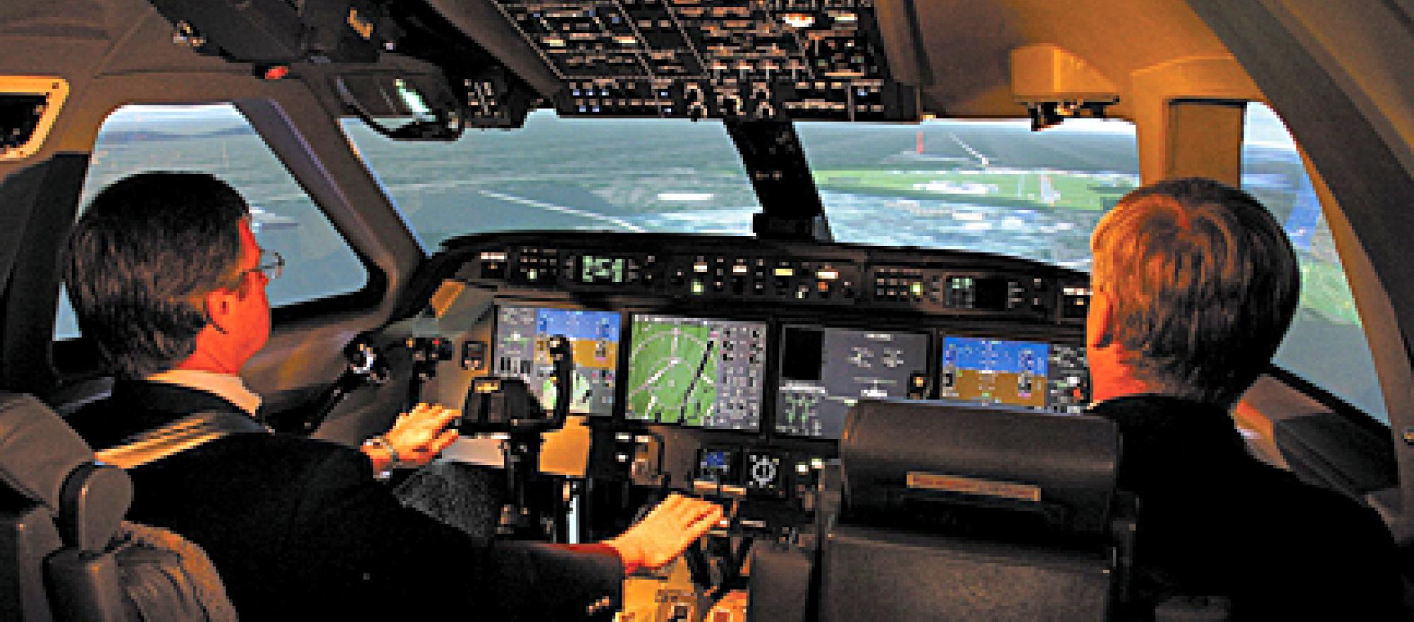 When an emergency happens, crews who have trained with full-motion simulators