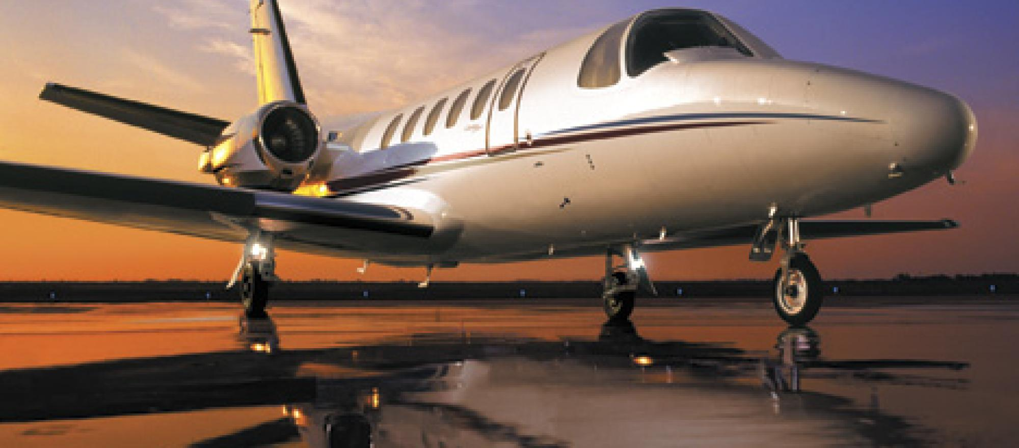 A citation bravo costs far less to operate than a global 5000, a potential pr