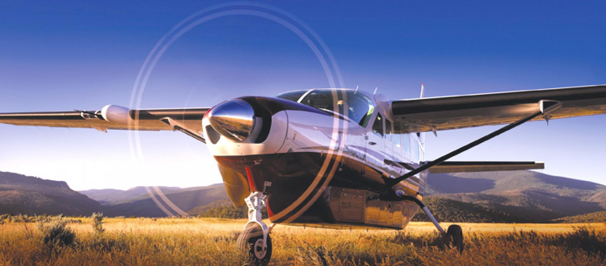 With its unpressurized cabin and relatively slow cruise speeds, this single-e
