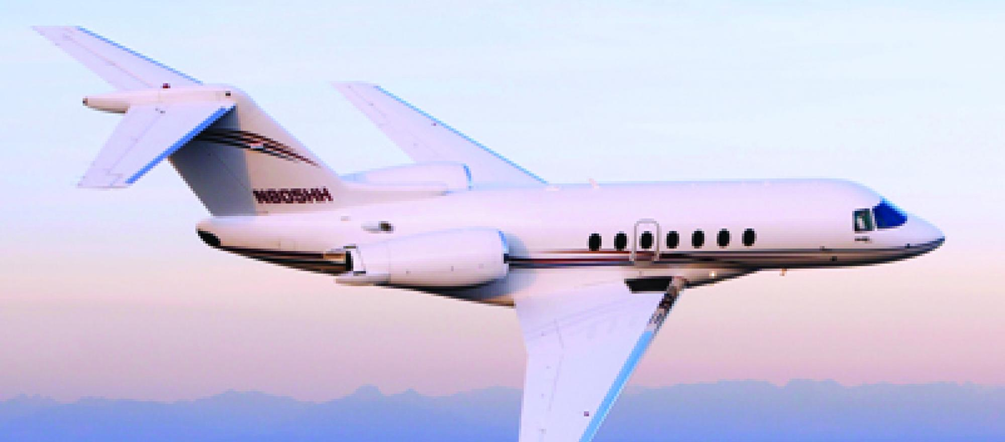 Raytheon's Hawker 4000 has received FAA certification.