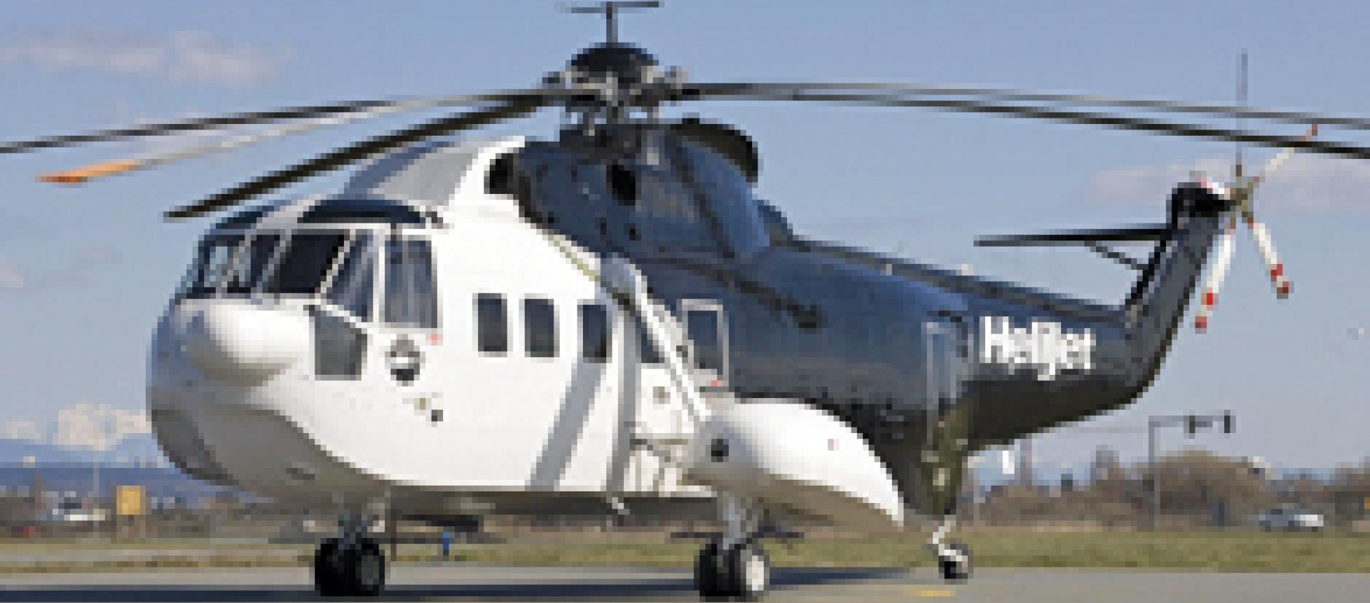Victoria-based Helijet will offer charter flights from Vancouver to the Olymp