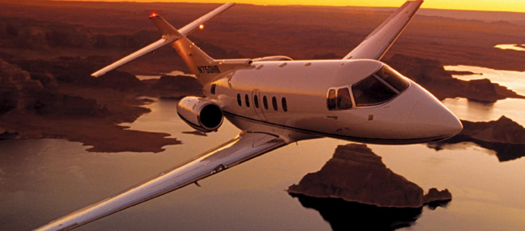 The Hawker 750 can fly farther than any comparable airplane near its price po