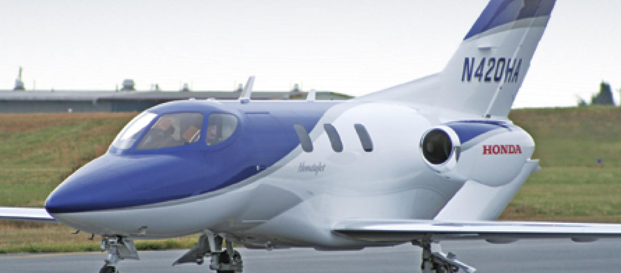 Honda 39 s big bet business jet traveler for How much is a honda jet