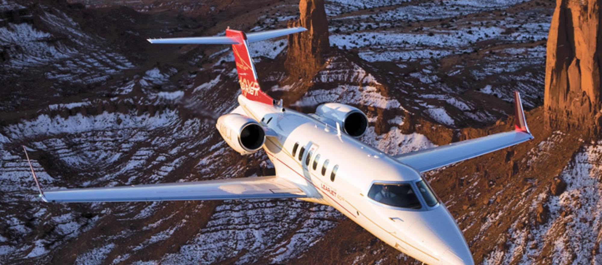 """Customers love the airplane,"" said one operator of the Learjet 40XR. ""It has"