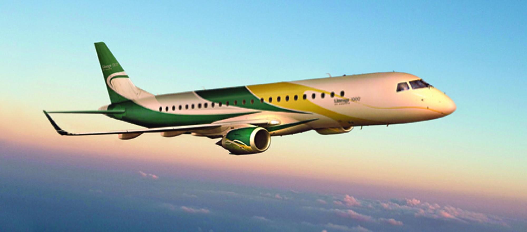 The Lineage 1000 will be able to operate from airports where some of the othe