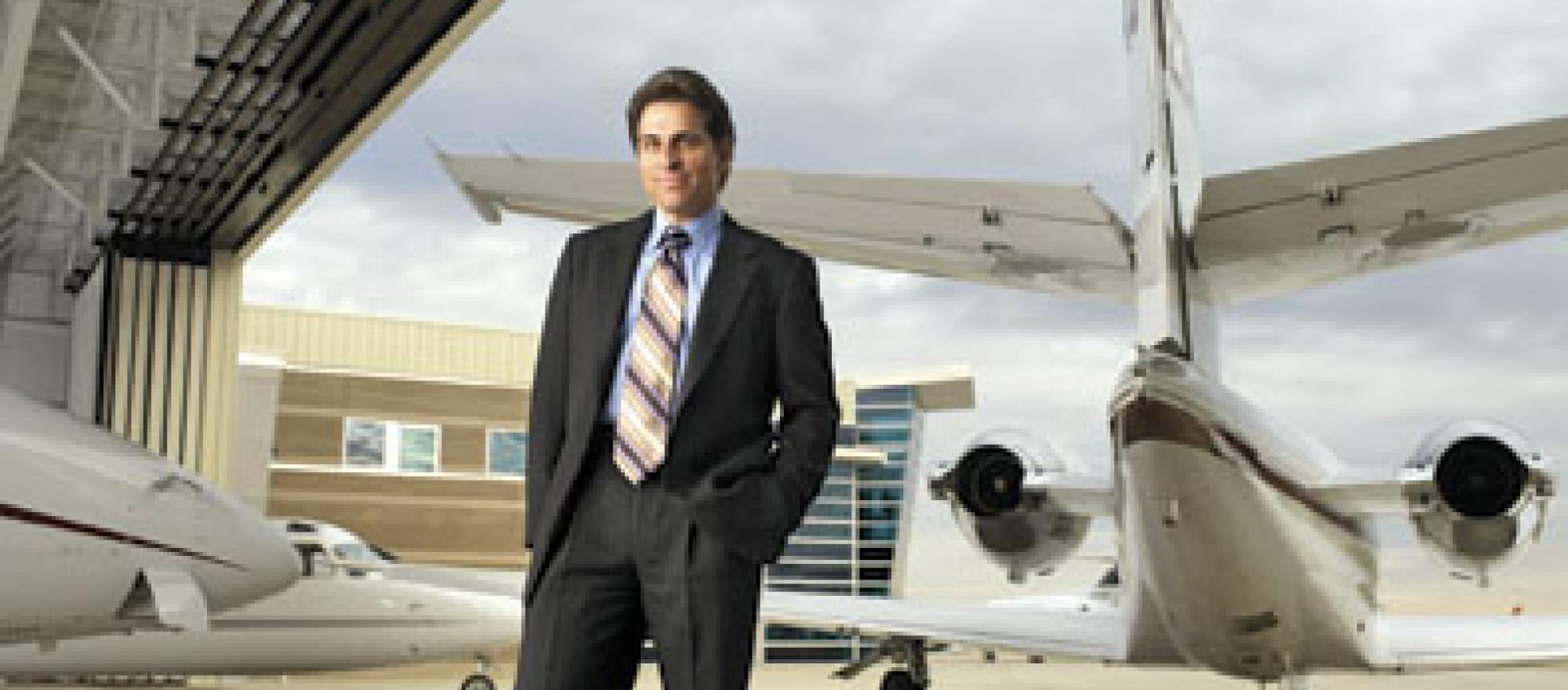 Kenn Ricci, who founded Flight Options and left the company in 2003, returned