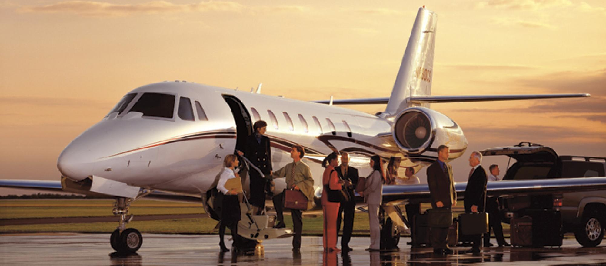 Charter operators employ more than 300 makes and models of business aircraft,