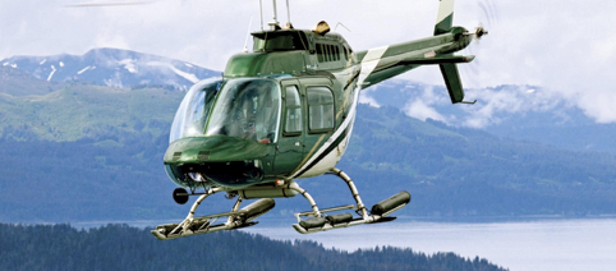 "One pilot described the Bell 206 JetRanger as ""bulletproof,"" adding, ""They ju"