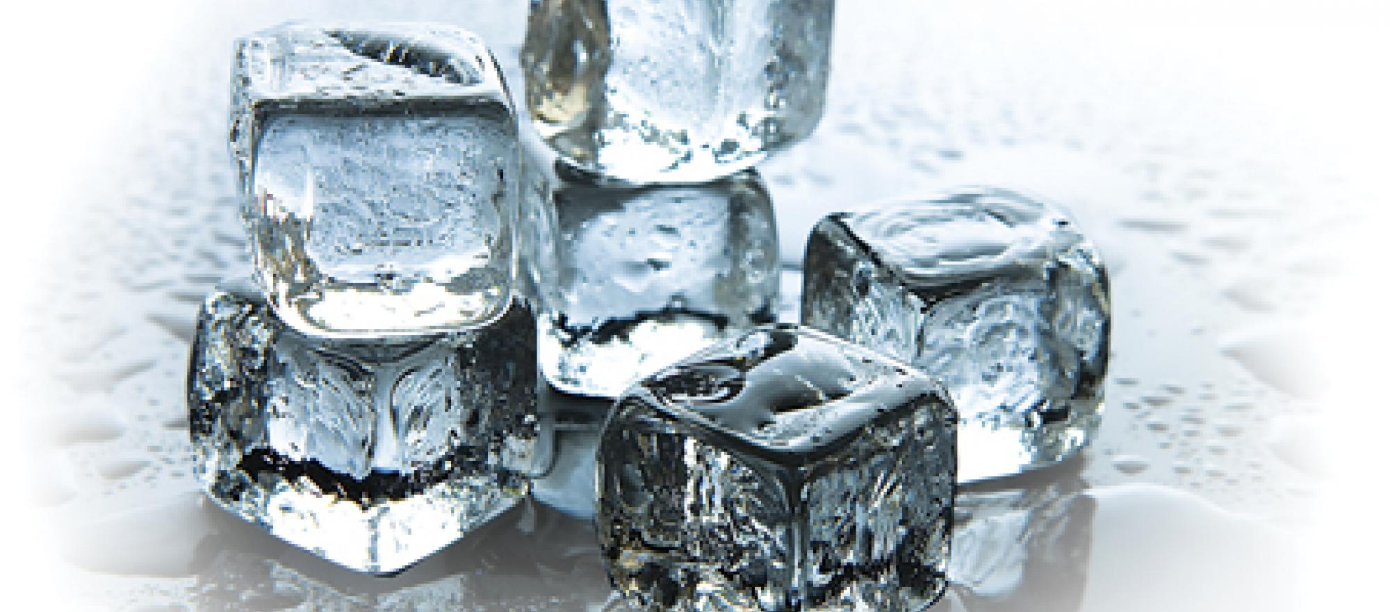 Truth is, ice is no more or less safe for consumption than the water from whi