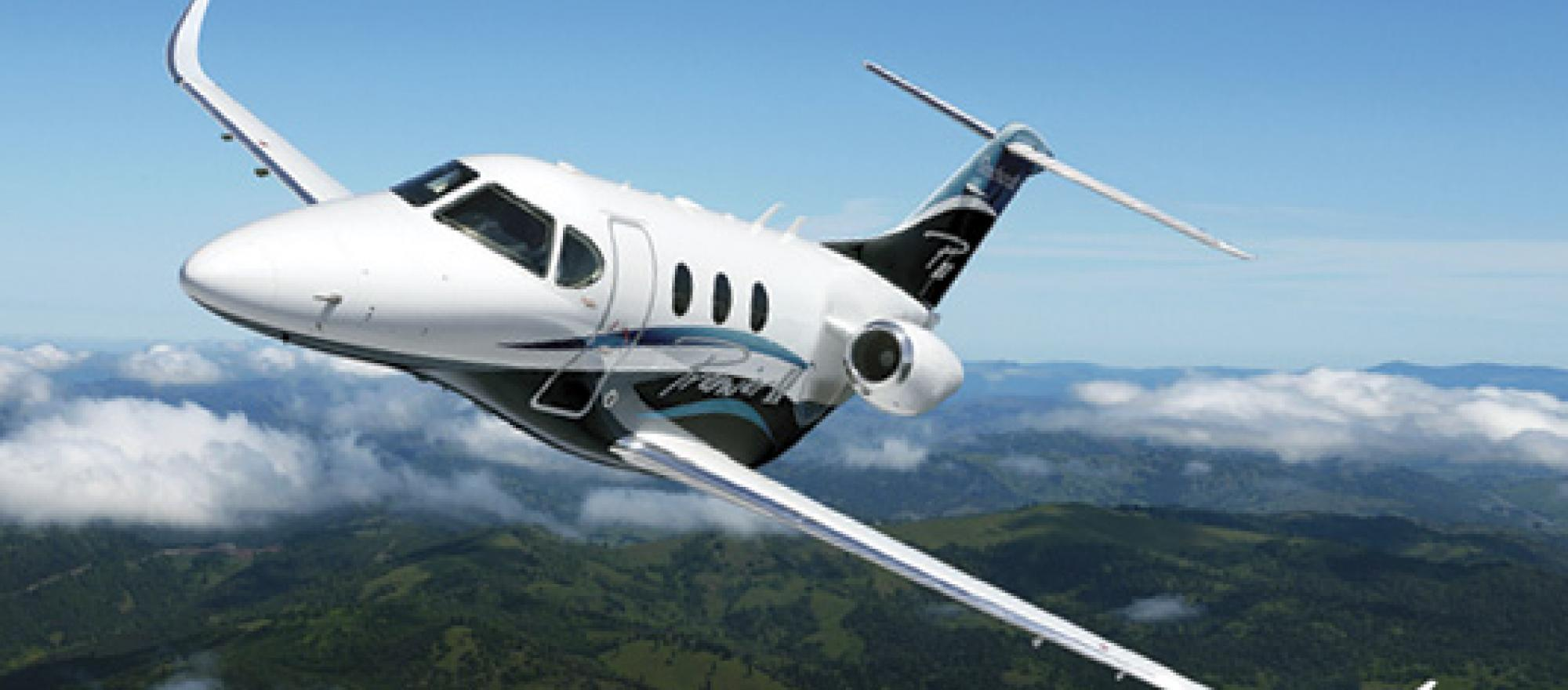The $7.065 million Premier II is Hawker Beechcraft's follow-on to the Premier