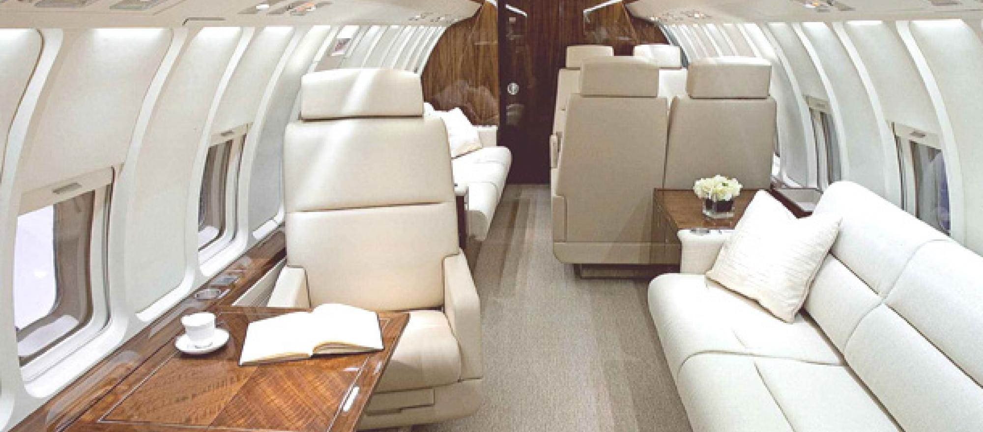 You end up with nearly the equivalent of a new $53.25 million Global Express