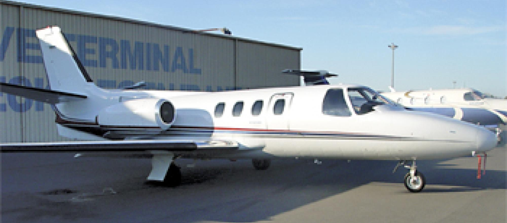 Edwards' and May's 1971 Cessna Citation 500 boasts terrain-warning and global