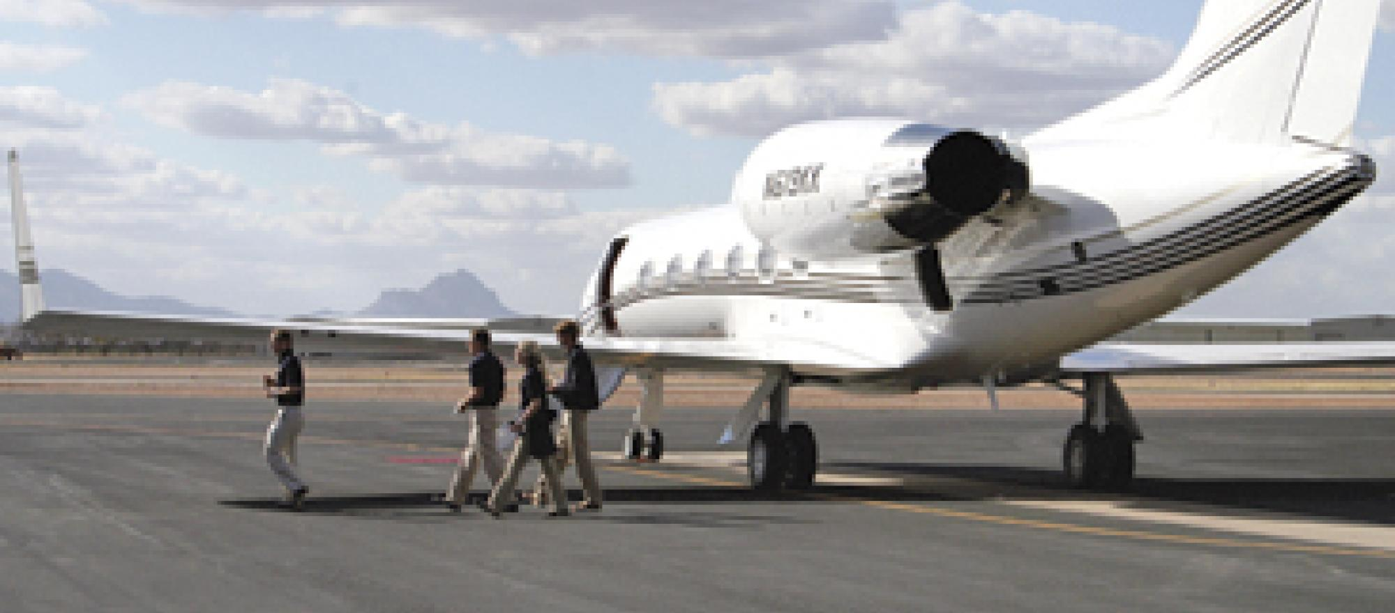 Tucson international airport boasts six FBOs. A seventh is slated to open thi