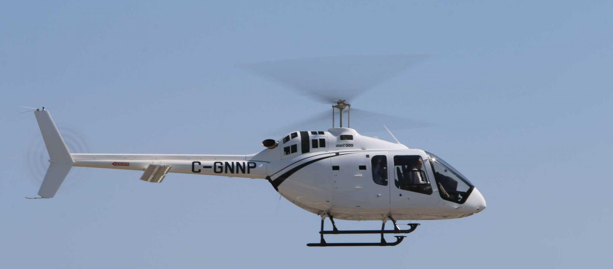 Bell 505 Delivers Smooth Ride In Test Flight