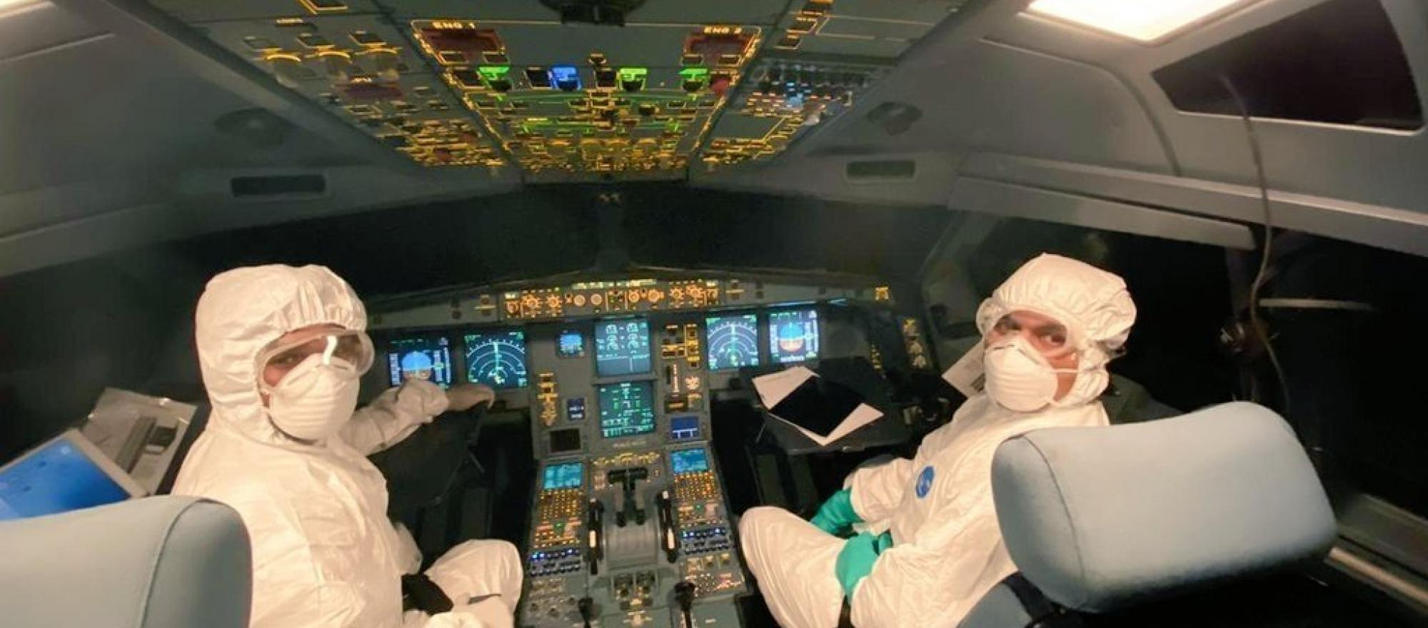 SriLankan Airlines pilots flying to China