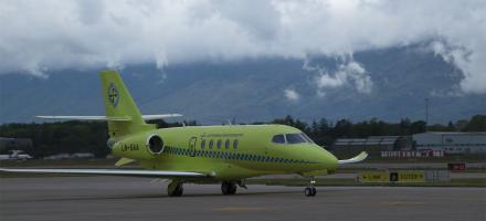 Textron Builds First Latitude Air Ambulance for Norway