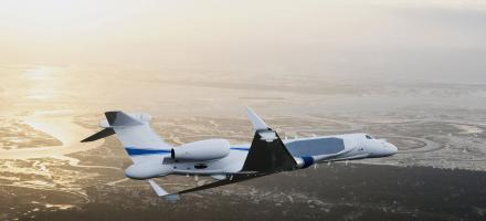 Gulfstream Delivers Special-missions G550 'Oron' to Israel