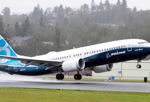 Boeing Completes Max Software Update