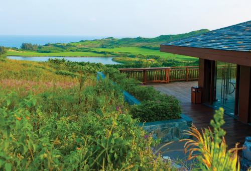 View from the picturesque Shanqin Bay clubhouse. (Photo: Shanqin Bay)