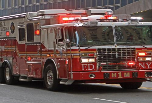 Helicopter Crashes Atop New York Skyscraper