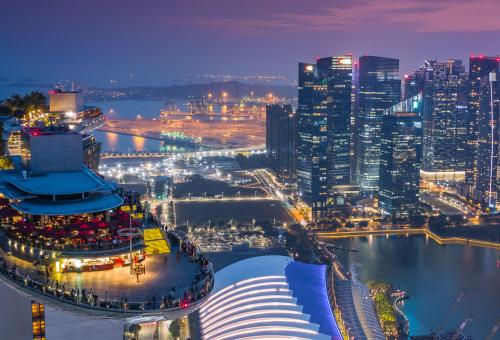 Marina Bay Sands Skypark, Singapore.  Photo: Adobe Stock