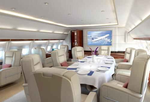 Airbus Corporate Jets Interior