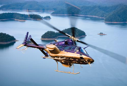 You can pick up a good 10-year-old Bell 430  for less than $2 million. That's a bargain.