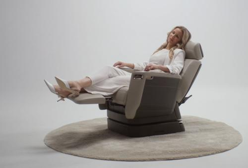 Bombardier Introduces Nuage Seat for Global 7500 Jet