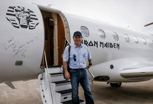 A Rock Star/Pilot Assesses Embraer's Legacy 500
