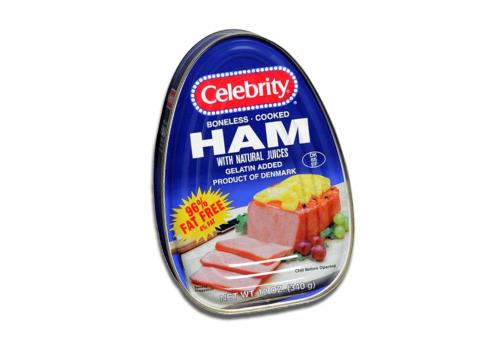 Celebrity canned ham