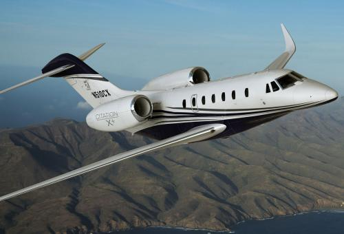 Cessna's popular Citation X+
