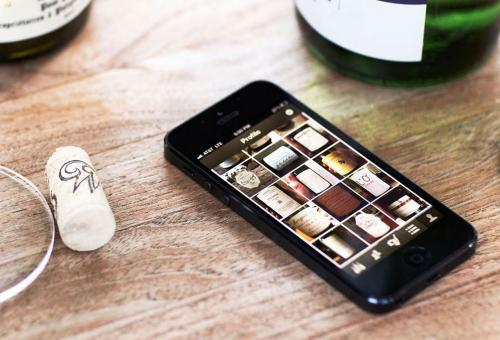Smartphone apps for wine