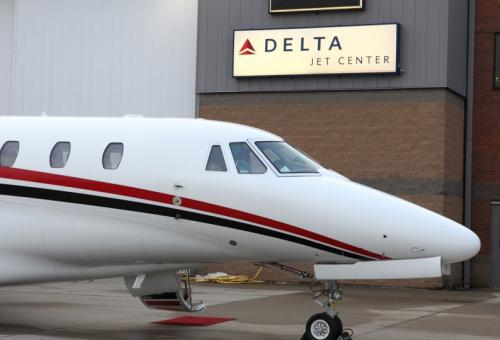 Photo: Delta Private Jets