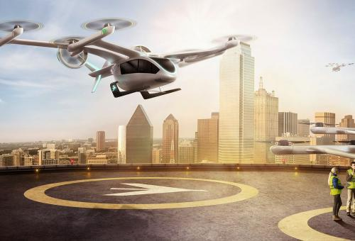 Flight Simulator Gives Early Glimpse of eVTOL Aircraft