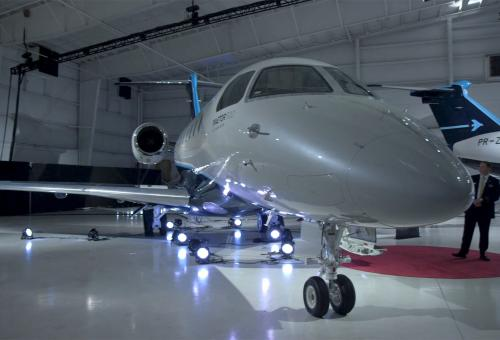Embraer Launches Praetor 500 and 600 Jets
