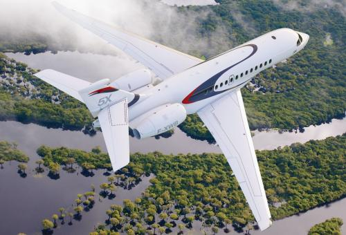 Dassault revealed the $45 million Falcon 5X in late 2013. The first aircraft will fly this year and certification is likely in 2017.