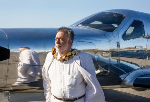 Coppola uses his Daher-Socata TBM 850 for flights within California. (Photo: Chad Keig)